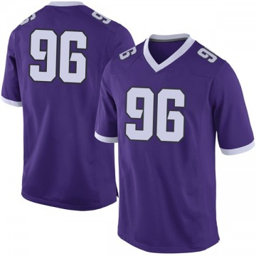 Men's Dennis Collins TCU Horned Frogs Nike Limited Purple Football College Jersey