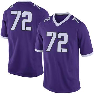 Men's Kris Dike TCU Horned Frogs Limited Purple Football College Jersey