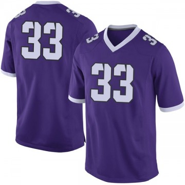 Men's Ryan McGee TCU Horned Frogs Nike Limited Purple Football College Jersey