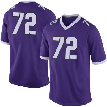 Men's T.J. Storment TCU Horned Frogs Limited Purple Football College Jersey