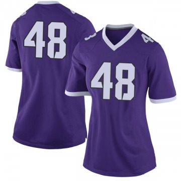 Women's Caleb Biggurs TCU Horned Frogs Nike Limited Purple Football College Jersey