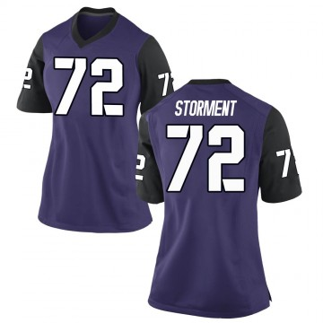 Women's T.J. Storment TCU Horned Frogs Nike Game Purple Football College Jersey