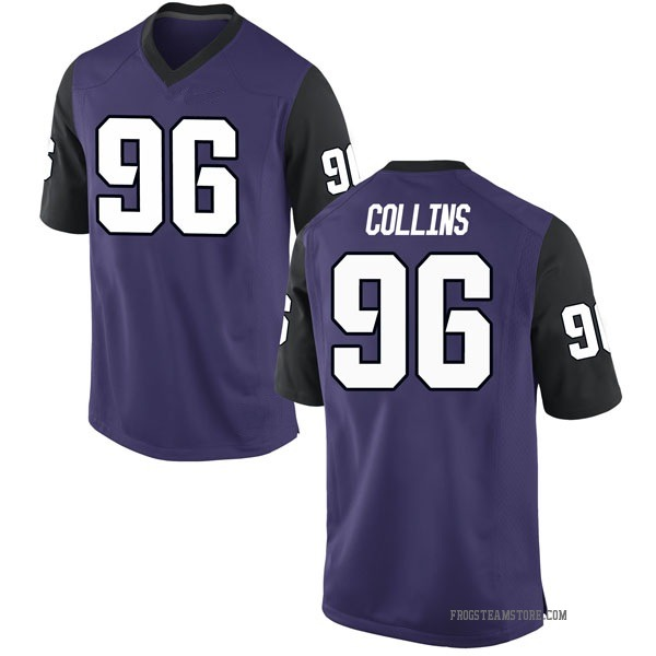 Youth Dennis Collins TCU Horned Frogs Nike Game Purple Football College Jersey