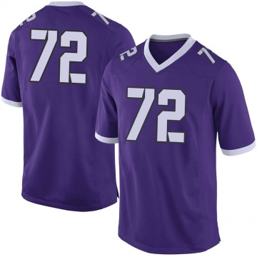 Youth T.J. Storment TCU Horned Frogs Limited Purple Football College Jersey